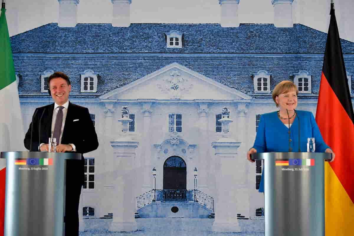 Settembre: se tornerà il coronavirus, cosa farà il Governo? Intanto Conte incontra Merkel (nella foto)
