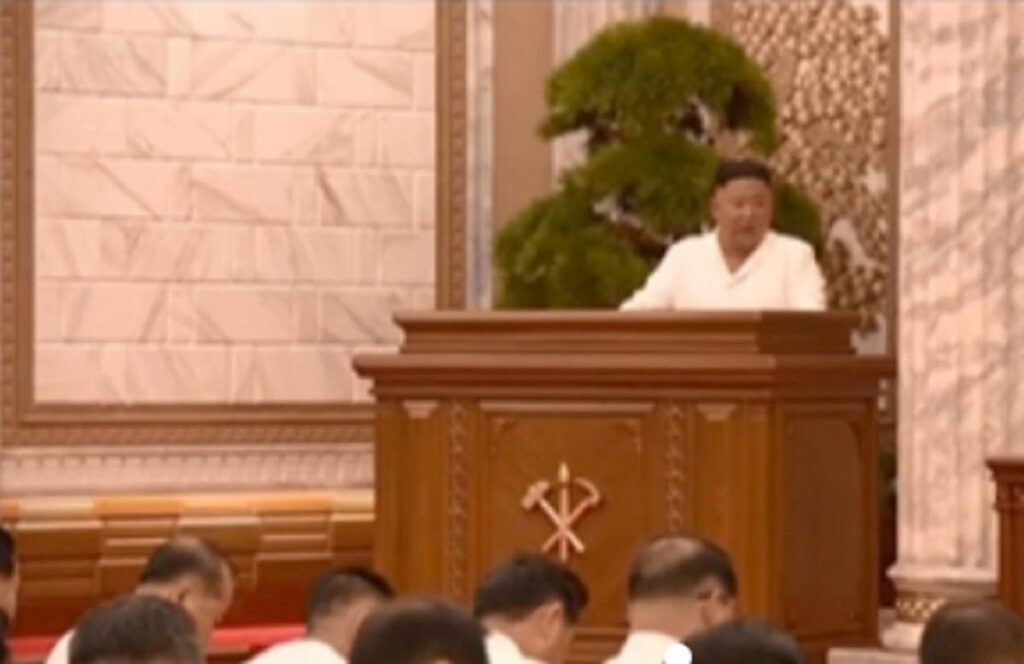 Kim Jong Un riappare in tv