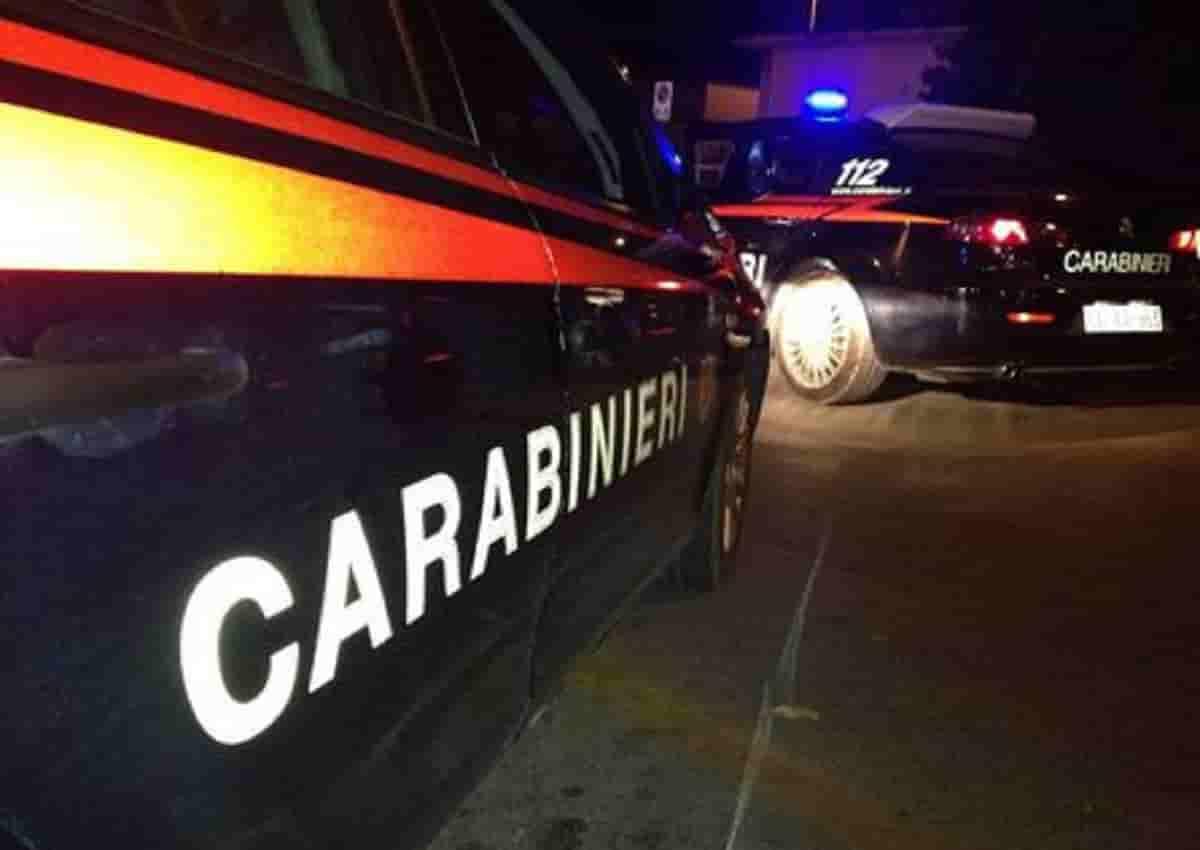 Cornuda, foro d'archivio Ansa di una volante dei carabinieri