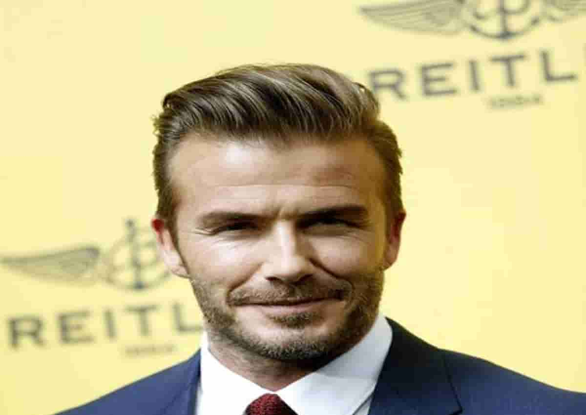 David Beckham, foto Ansa