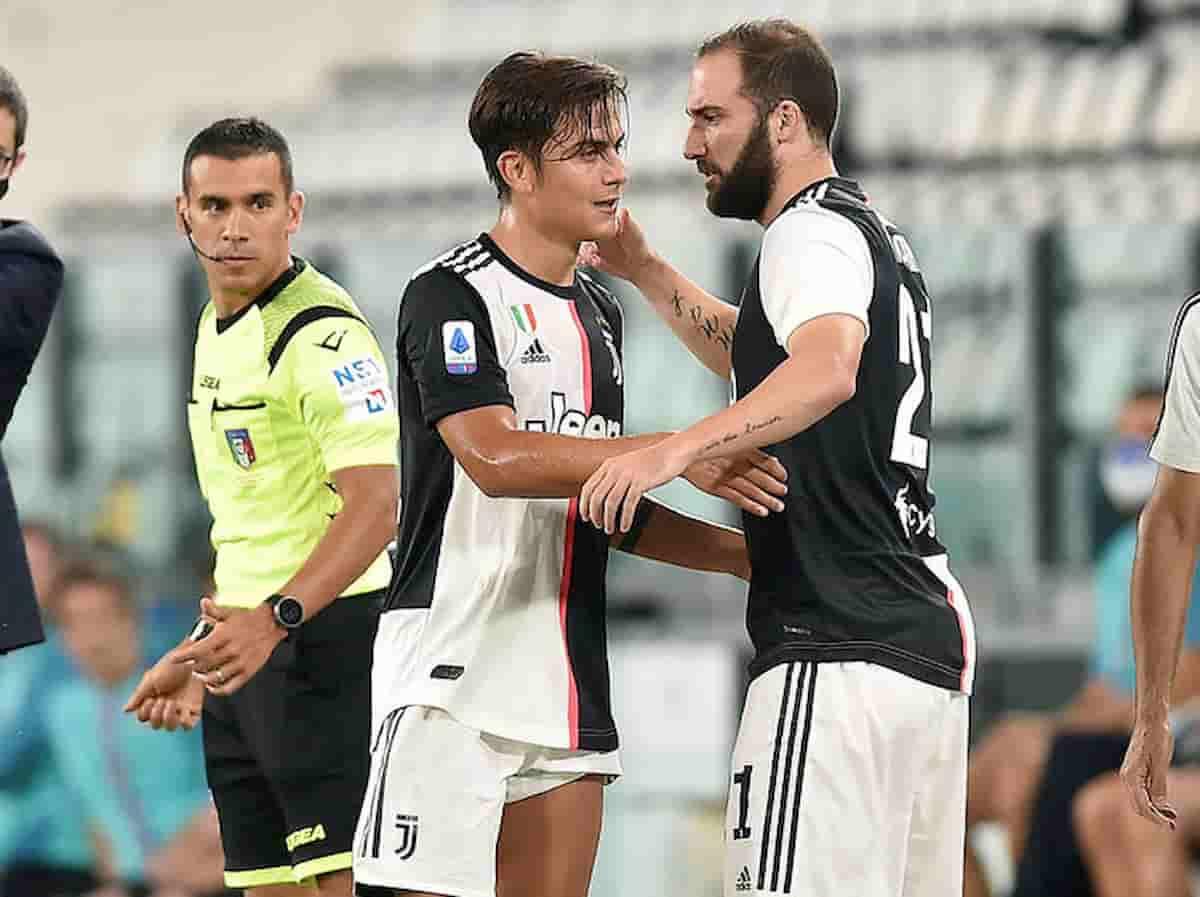Dybala infortunio in Juve-Sampdoria