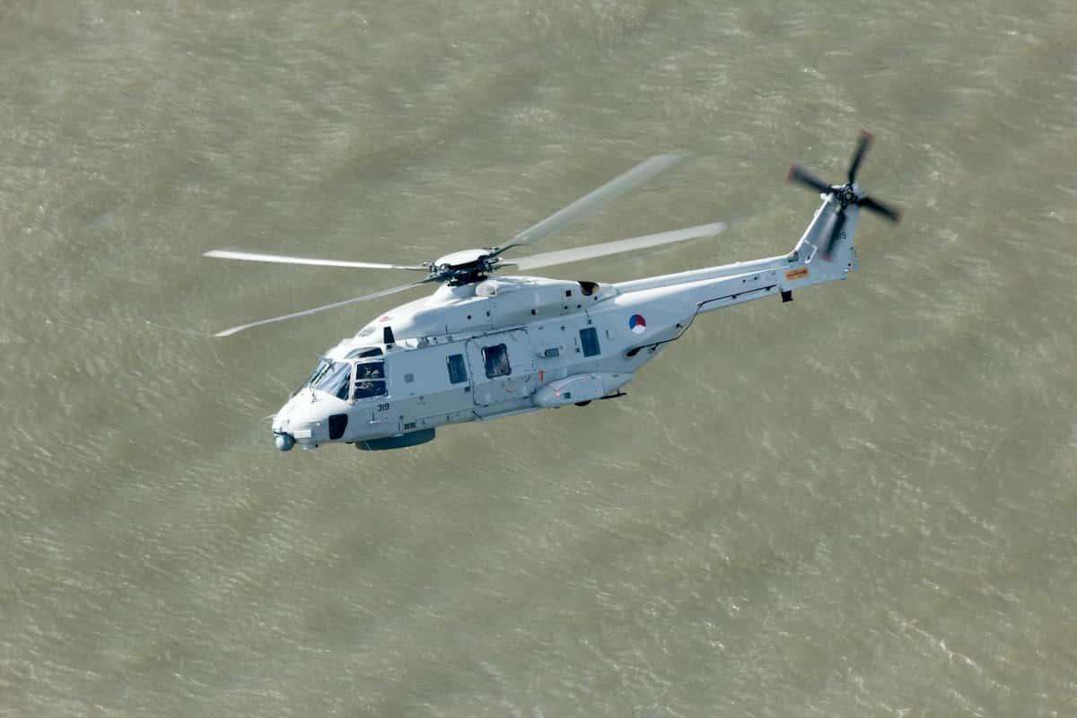 Elicottero militare olandese precipita nel Mar dei Caraibi