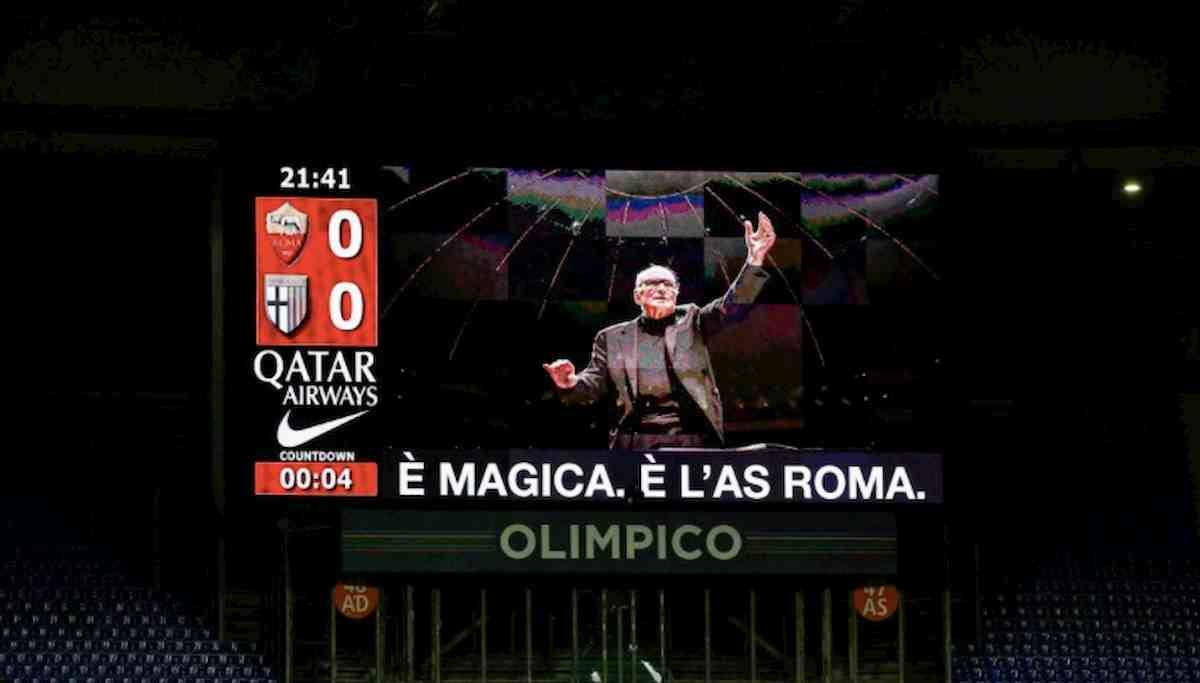 Ennio Morricone, ricordo emozionante Roma-Parma