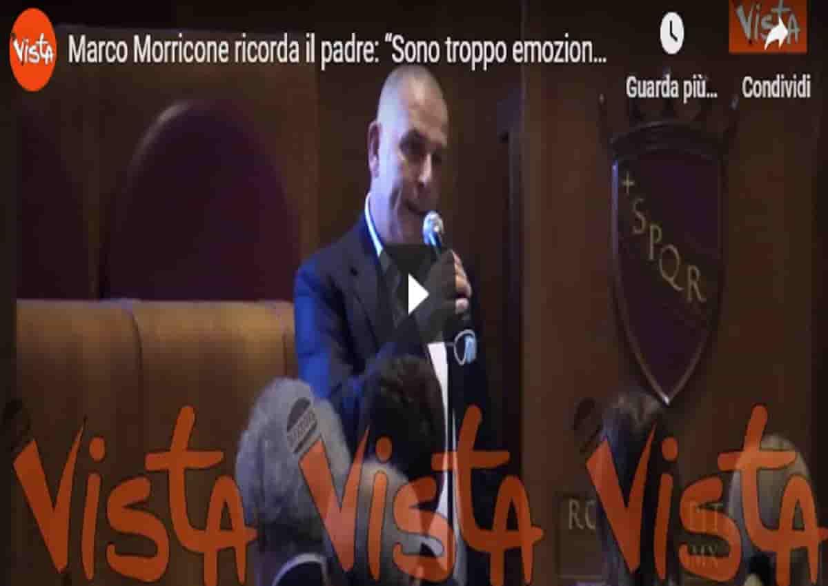 Ennio Morricone, Vista