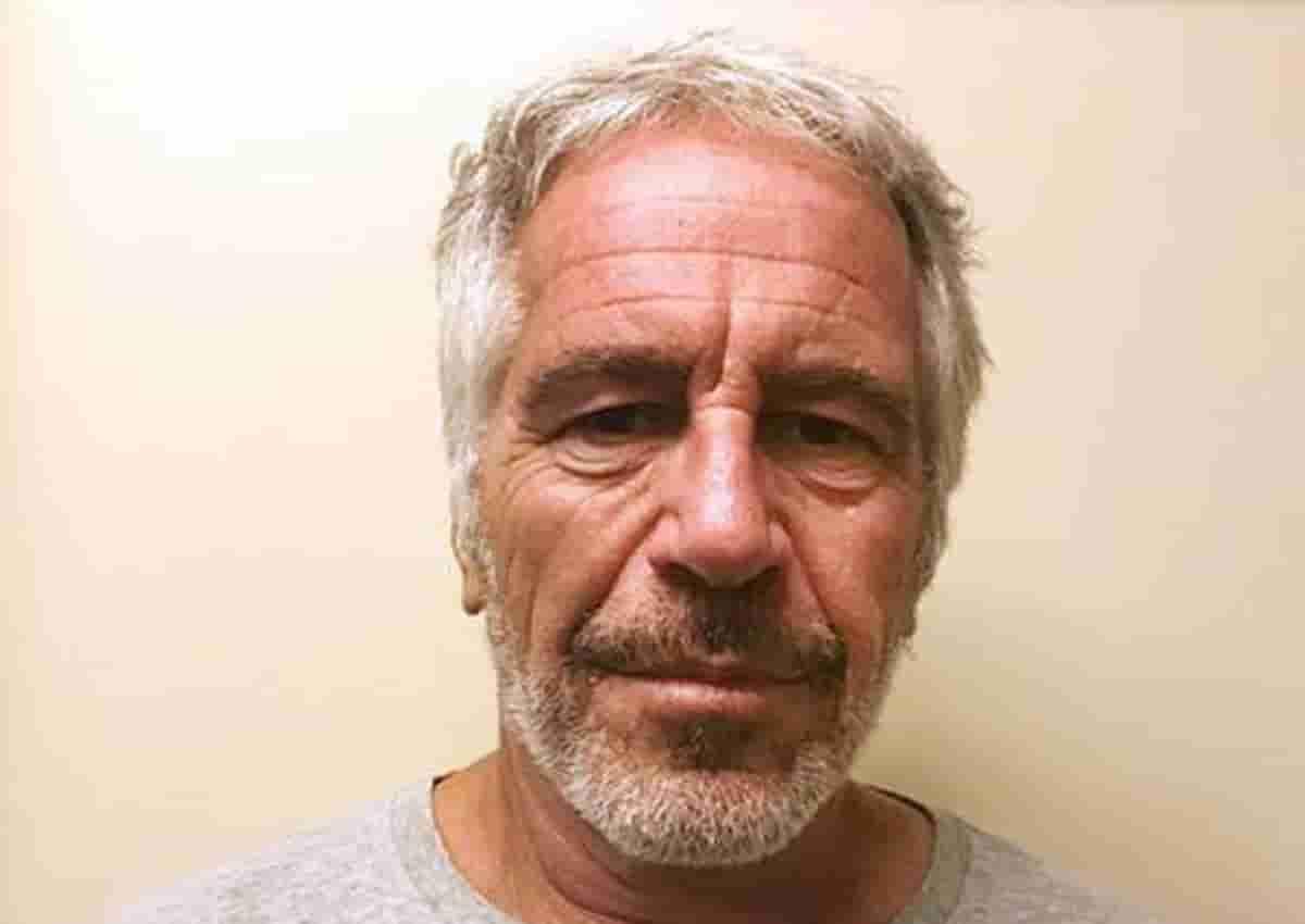 Epstein, foto Ansa