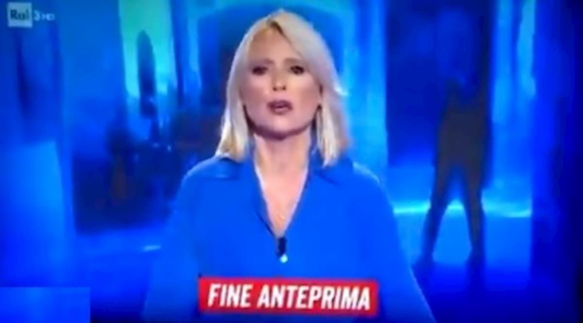 Federica Sciarelli, gaffe a Chi l'ha Visto