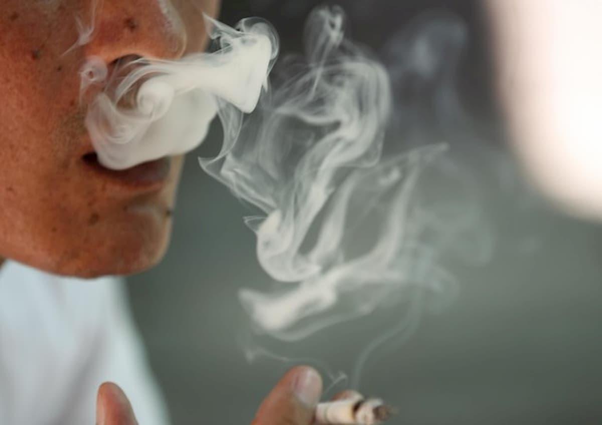 Fumo diffonde il covid
