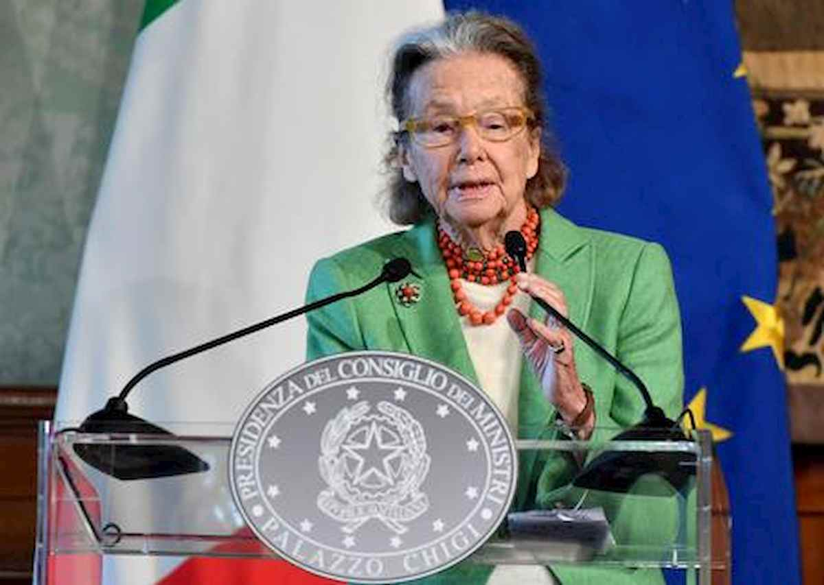 Giulia Maria Crespi, foto Ansa