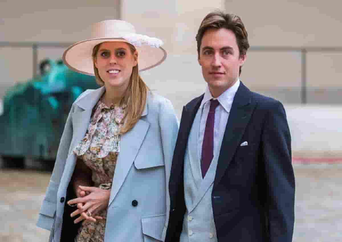 Gran Bretagna, le nozze della principessa Beatrice. Foto Ansa
