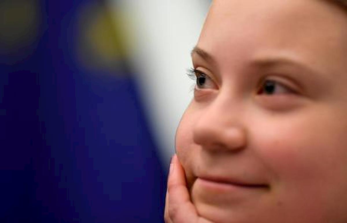 Greta Thunberg, foto Ansa