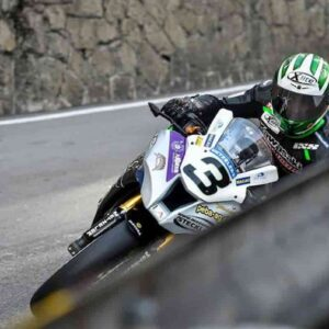 Horst Saiger, incidente in moto