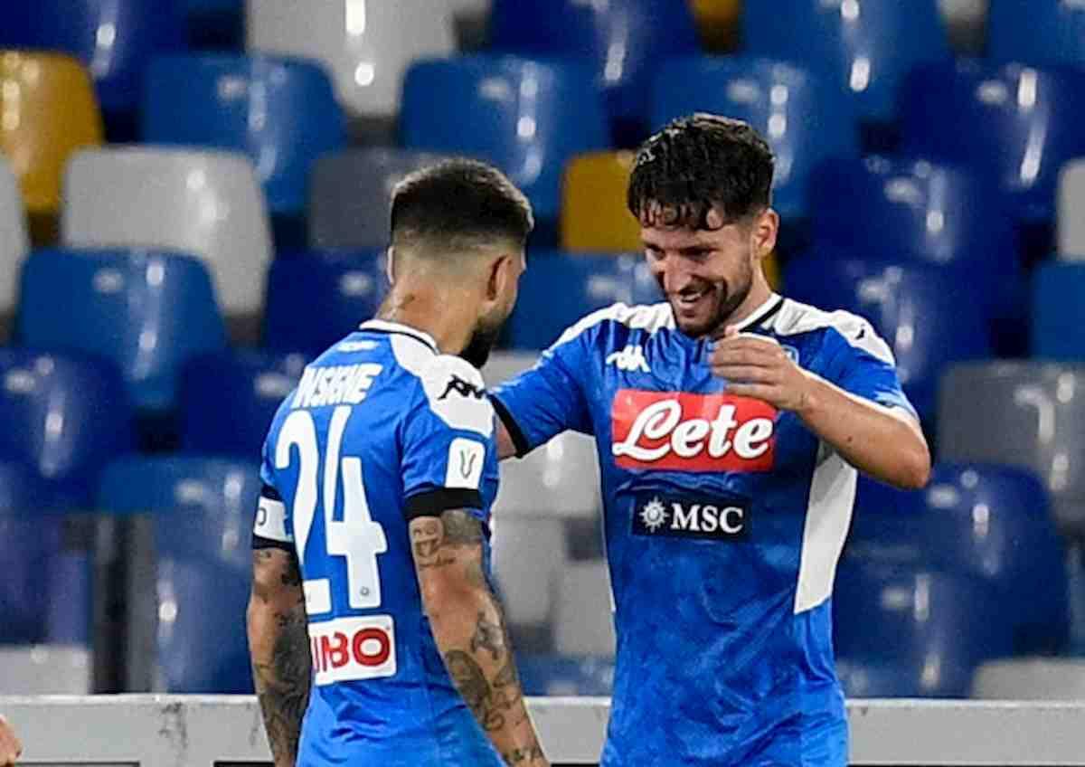 Napoli batte Roma con una magia di Insigne l'aggancia 5° posto