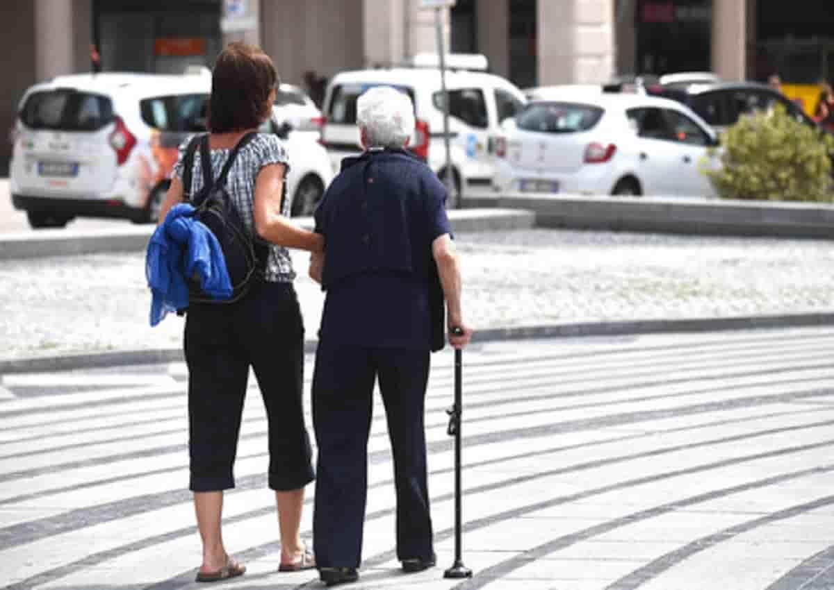 Italia e crescita demografica, foto d'archivio Ansa