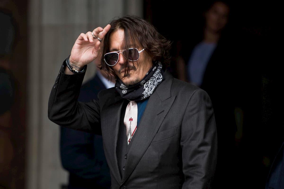 Johnny Depp, colazione a base di cocaina, whisky e pasticche