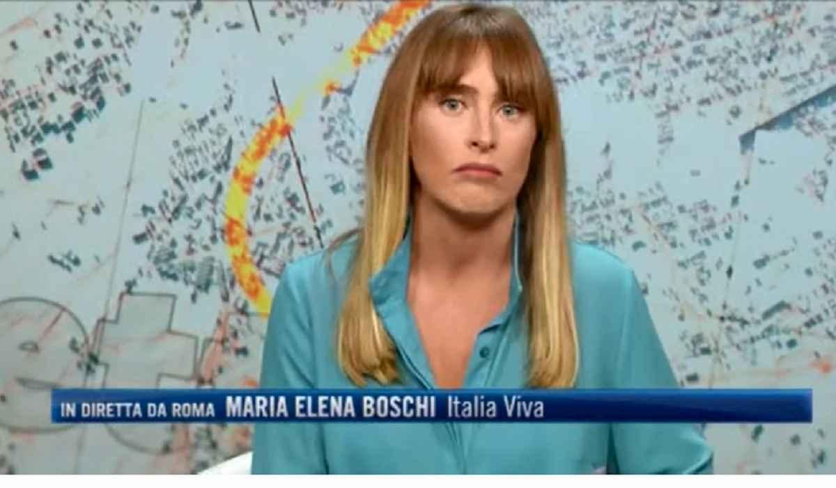 Maria Elena Boschi e il nuovo look