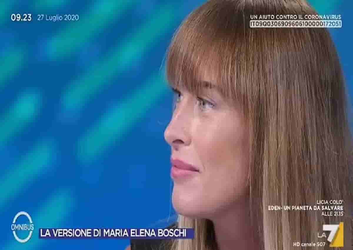Maria Elena Boschi, Omnibus