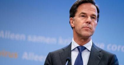 Italia, lite continua, allo sbando in casa, sotto attacco in Europa. Nella foto il premier olandese Mark Rutte