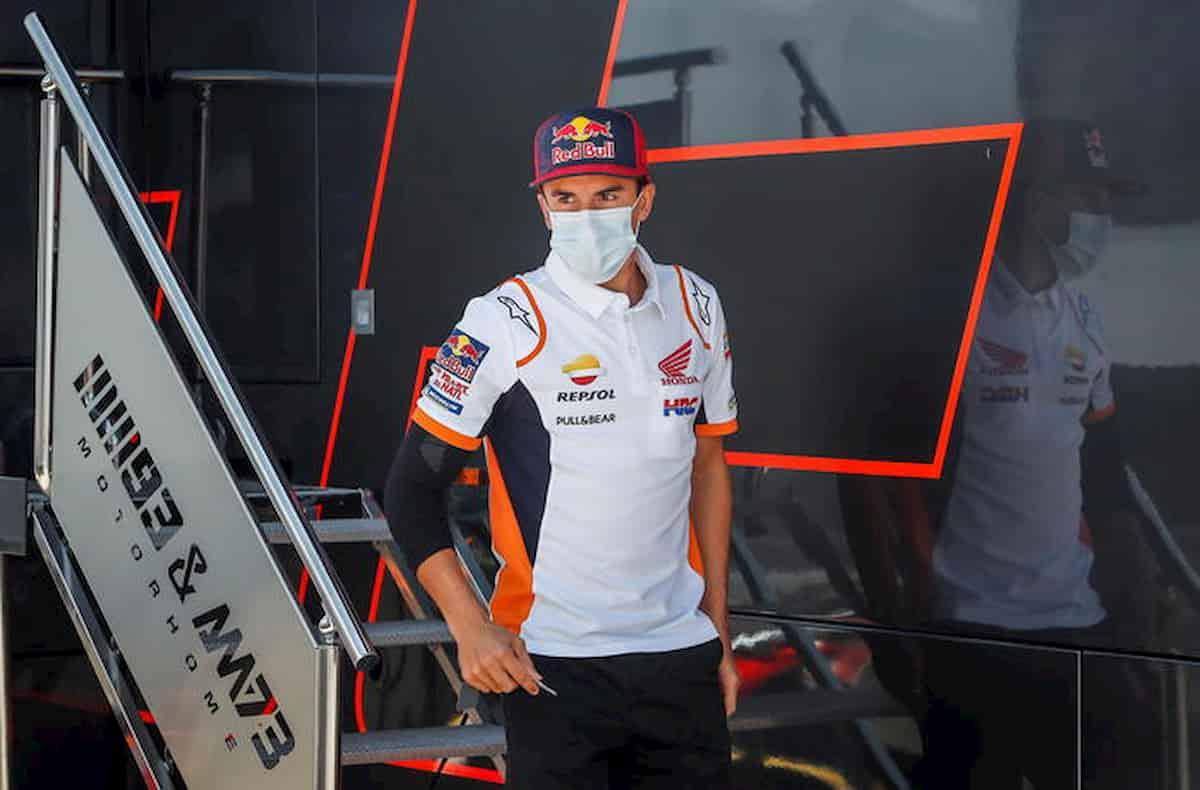 Motogp Marquez al gp di Jerez