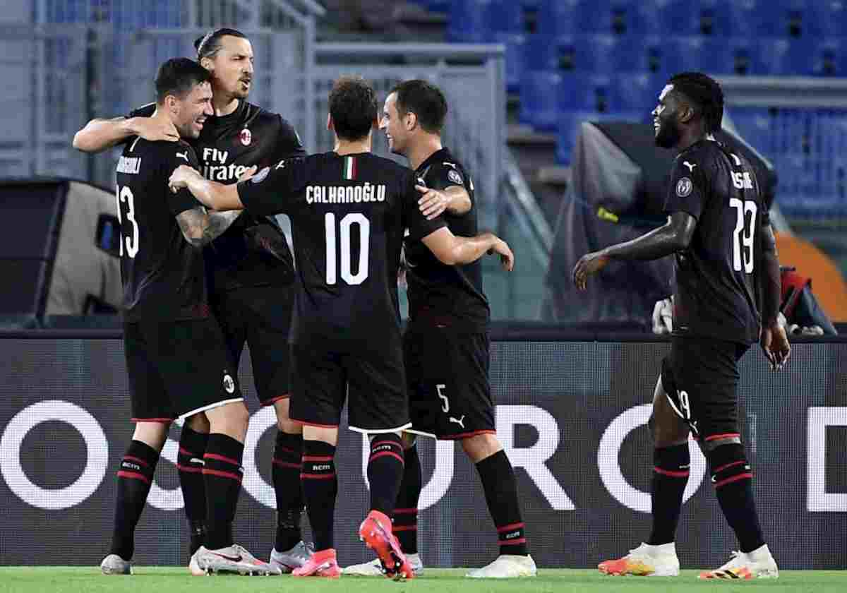 Milan, goleada al Bologna e qualificazione Europa League