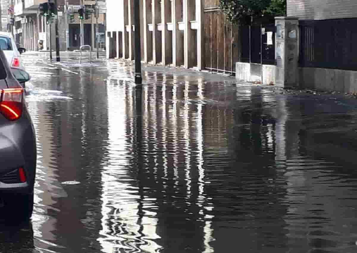 Maltempo Milano, foto d'archivio Ansa
