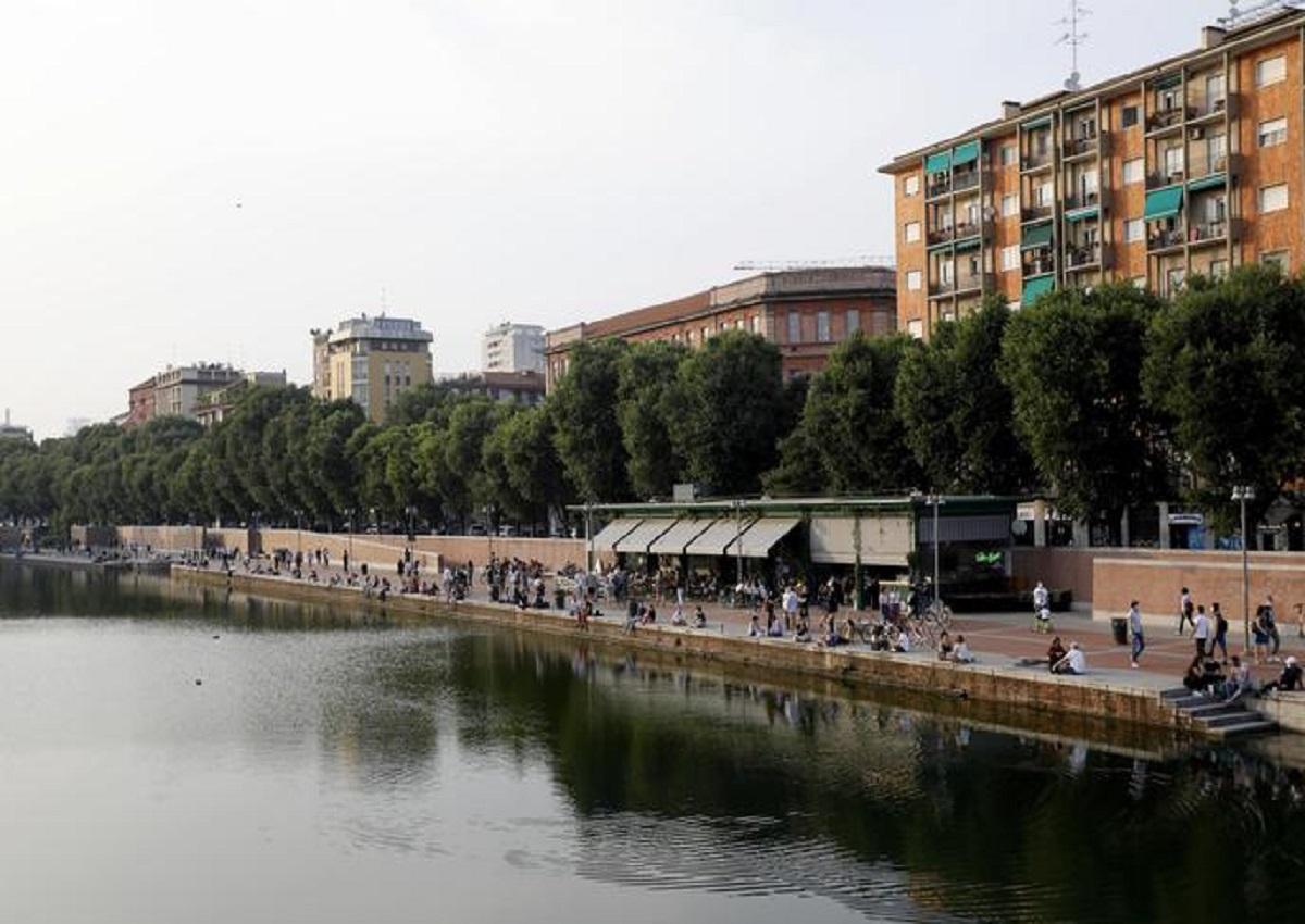 Milano, foto d'archivio Ansa