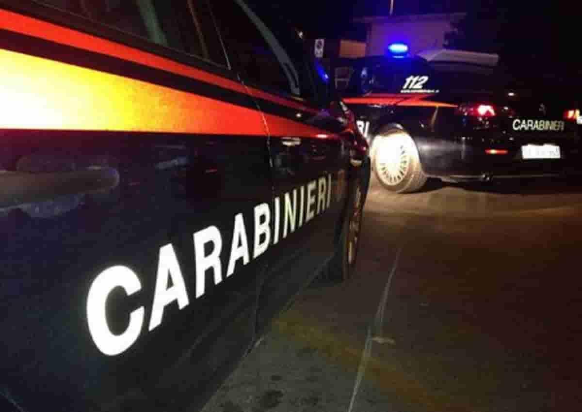 Milazzo, foto d'archivio Ansa di una volante dei carabinieri