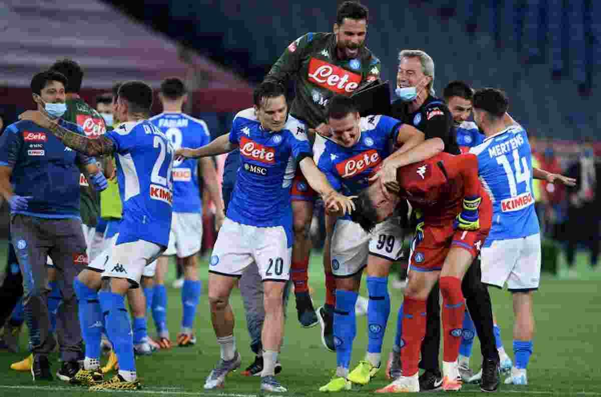 Serie campo Milan Parma 0 1 Bologna Napoli 0 1