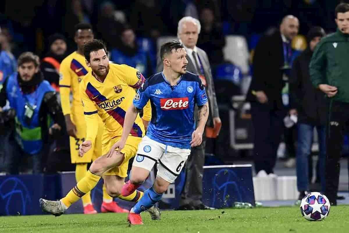 Barcellona-Napoli potrebbe non giocarsi al Camp Nou