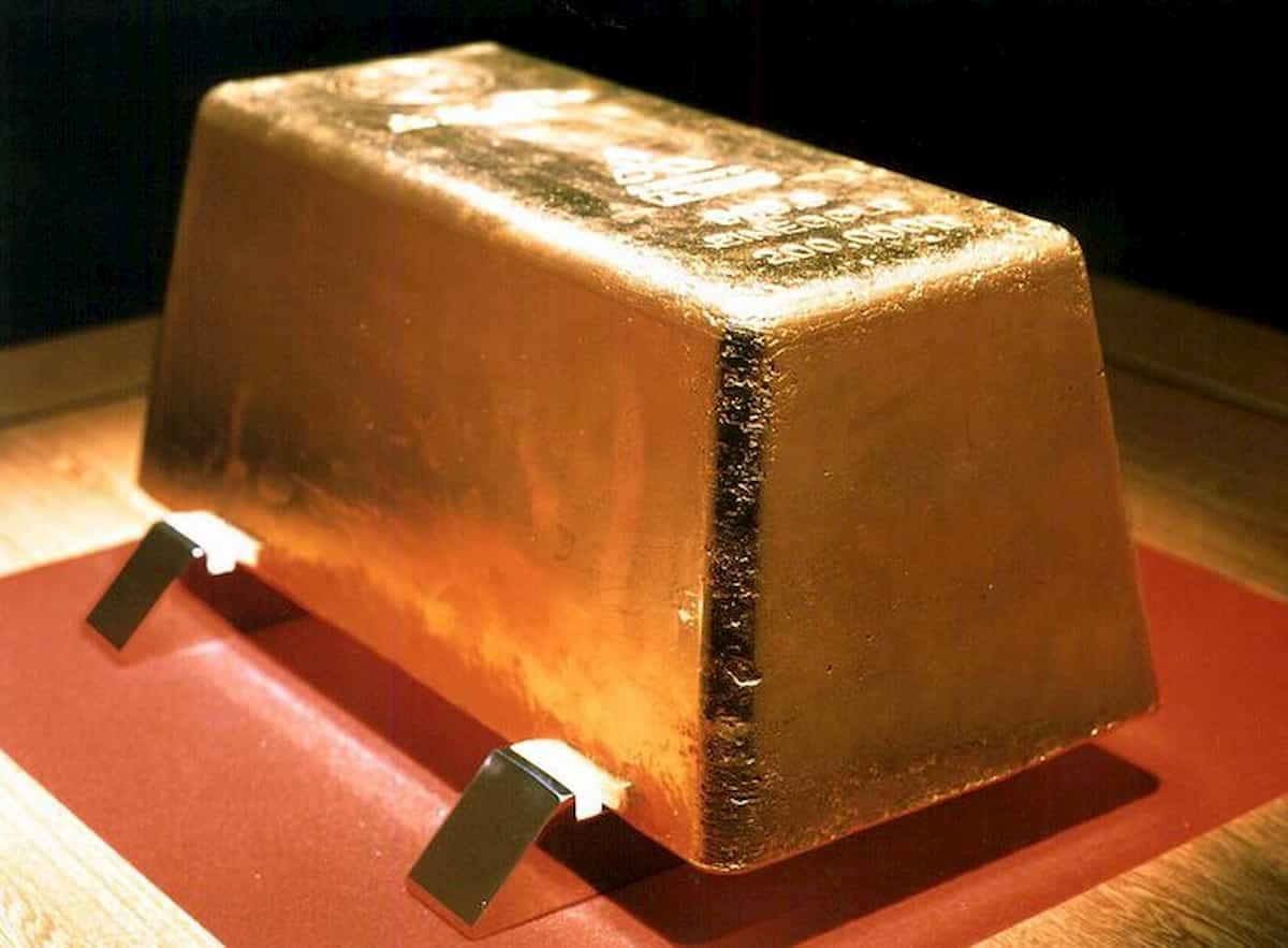 Oro ai massimi dal 2011