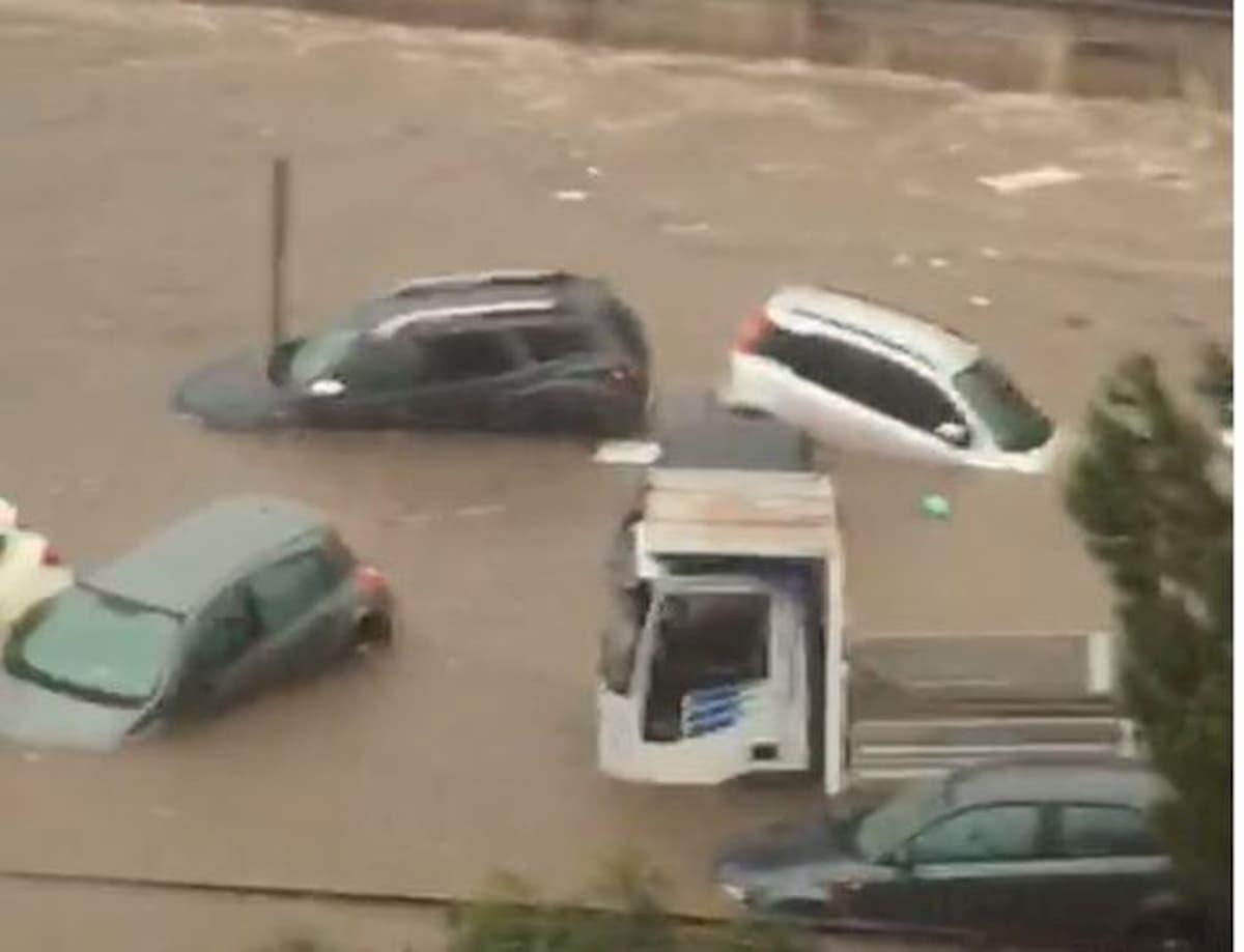 bomba d'acqua su Palermo oggi 15 luglio