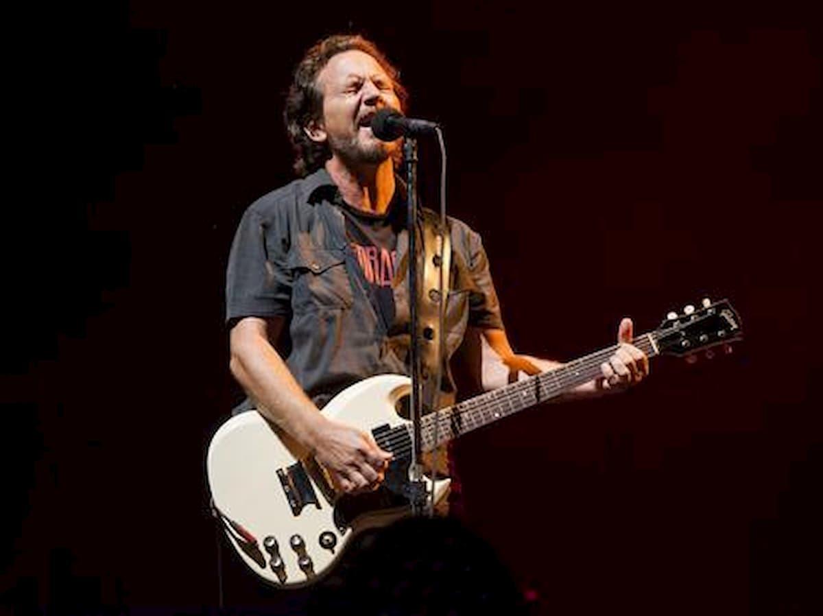 Pearl Jam concerto Imola