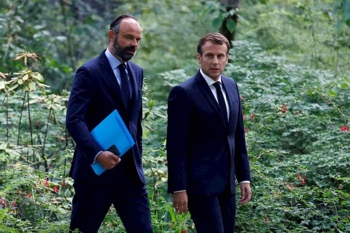 Edouard Philippe si dimette