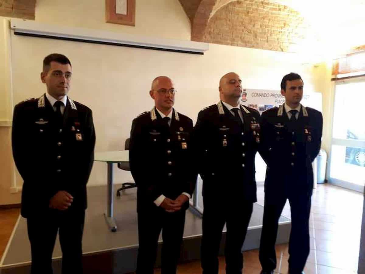 Carabinieri arrestati a Piacenza, il nuovo comandante