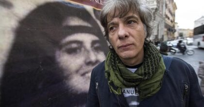 Emanuela Orlandi (nella foto un manifesto col fratello Pietro)36 anni dopo, la telefonata dal Vaticano che non ci fu