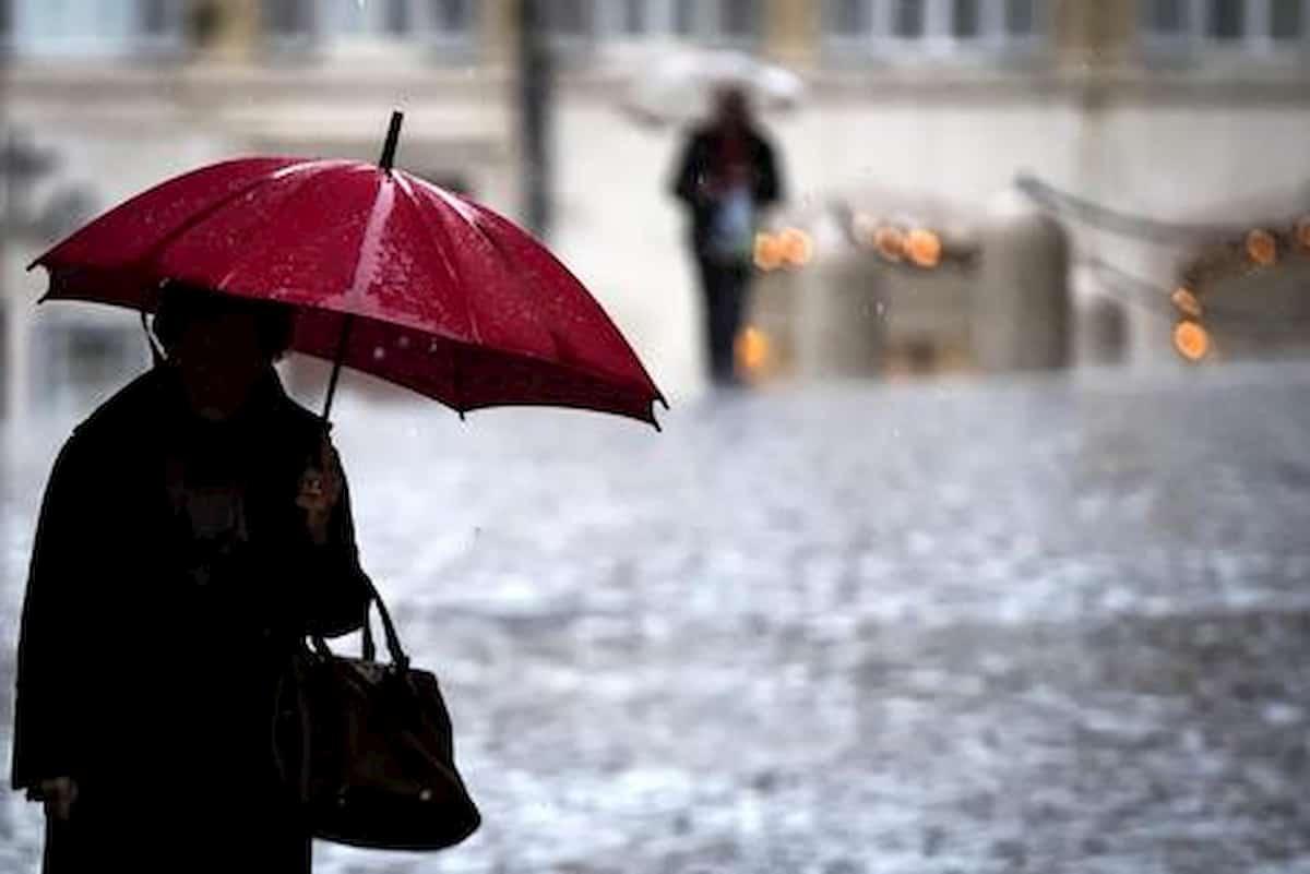 Meteo, in arrivo piogge e temporali
