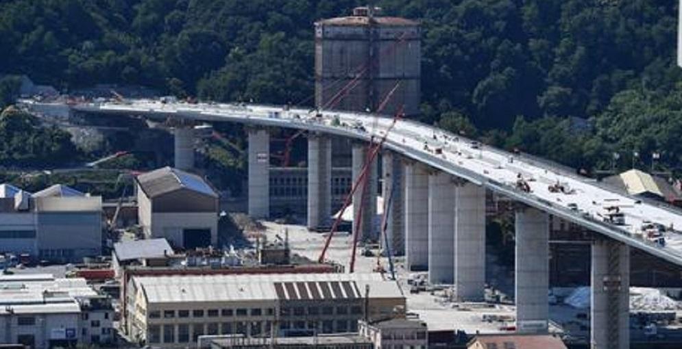Nuovo Ponte Morandi di Genova sarà gestito da Autostrade