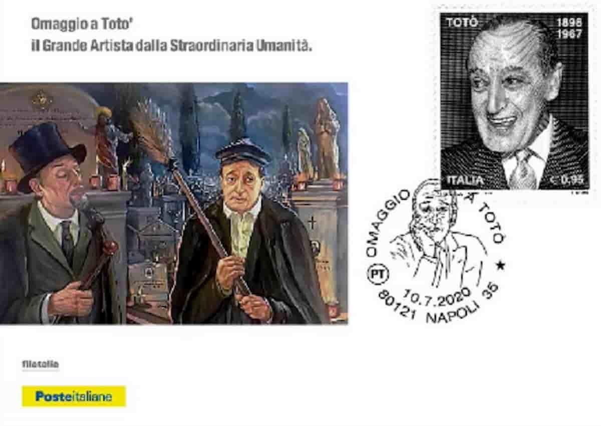 Poste Italiane, un nuovo folder omaggia Totò a 53 anni dalla morte