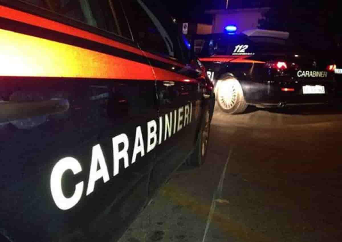 Pracchia, foto d'archivio Ansa di una volante dei carabinieri