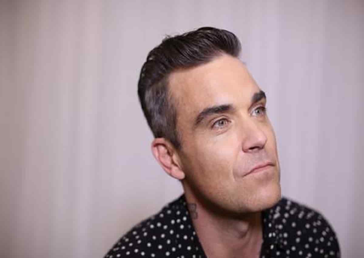 Robbie Williams, foto Ansa