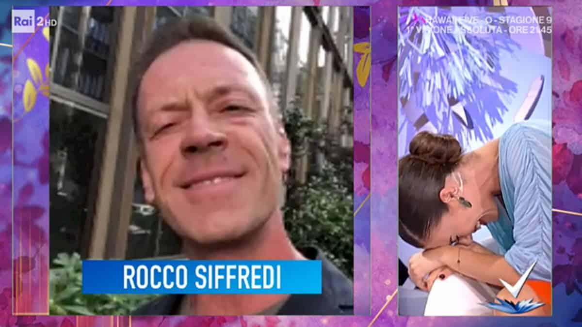 Rocco Siffredi fa una proposta a Bianca Guaccero