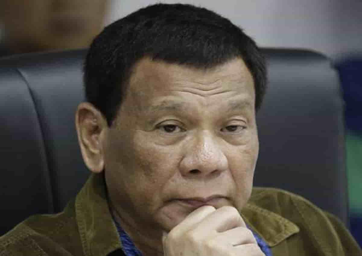 Rodrigo Duterte, foto Ansa