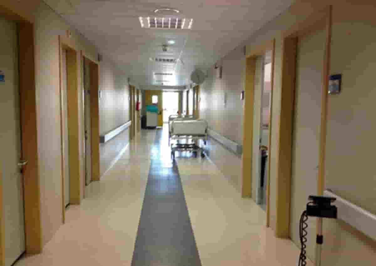 Russia, foto d'archivio Ansa di un ospedale