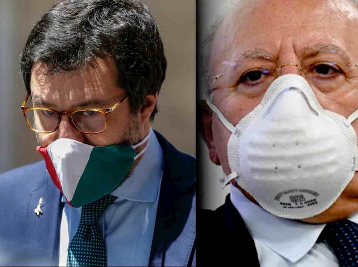 De Luca, l'ironia sui morti di Milano e Bergamo fa infuriare Lombardia e Salvini. Fa schifo