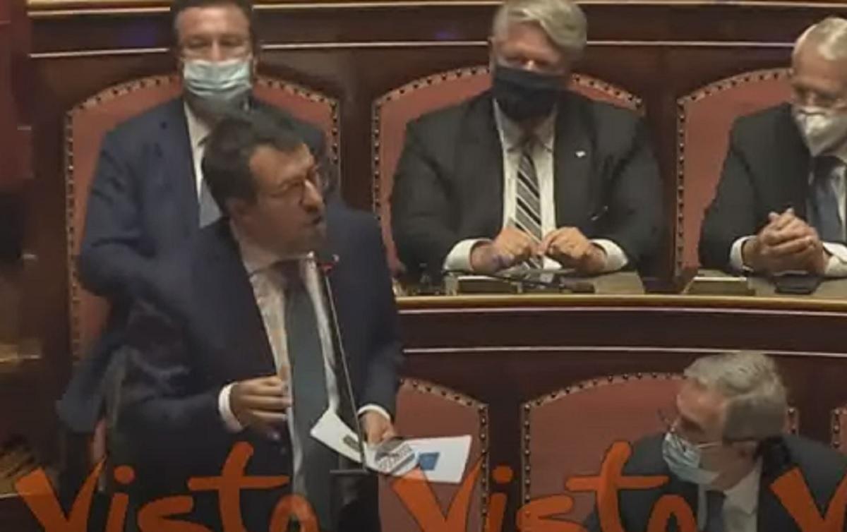Salvini (nella foto) a processo, il ruolo di Renzi e un dubbio