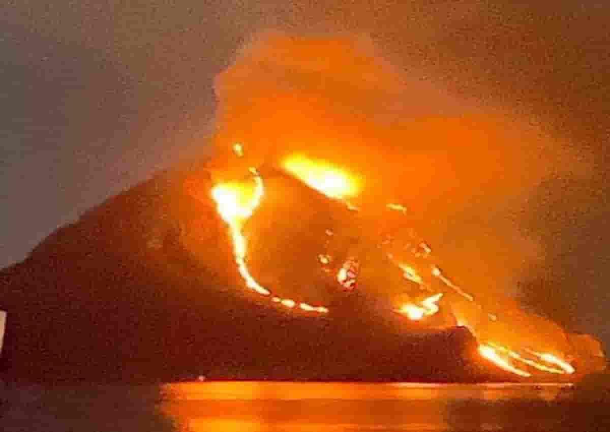 Incendio San Vito Lo Capo, foto Ansa