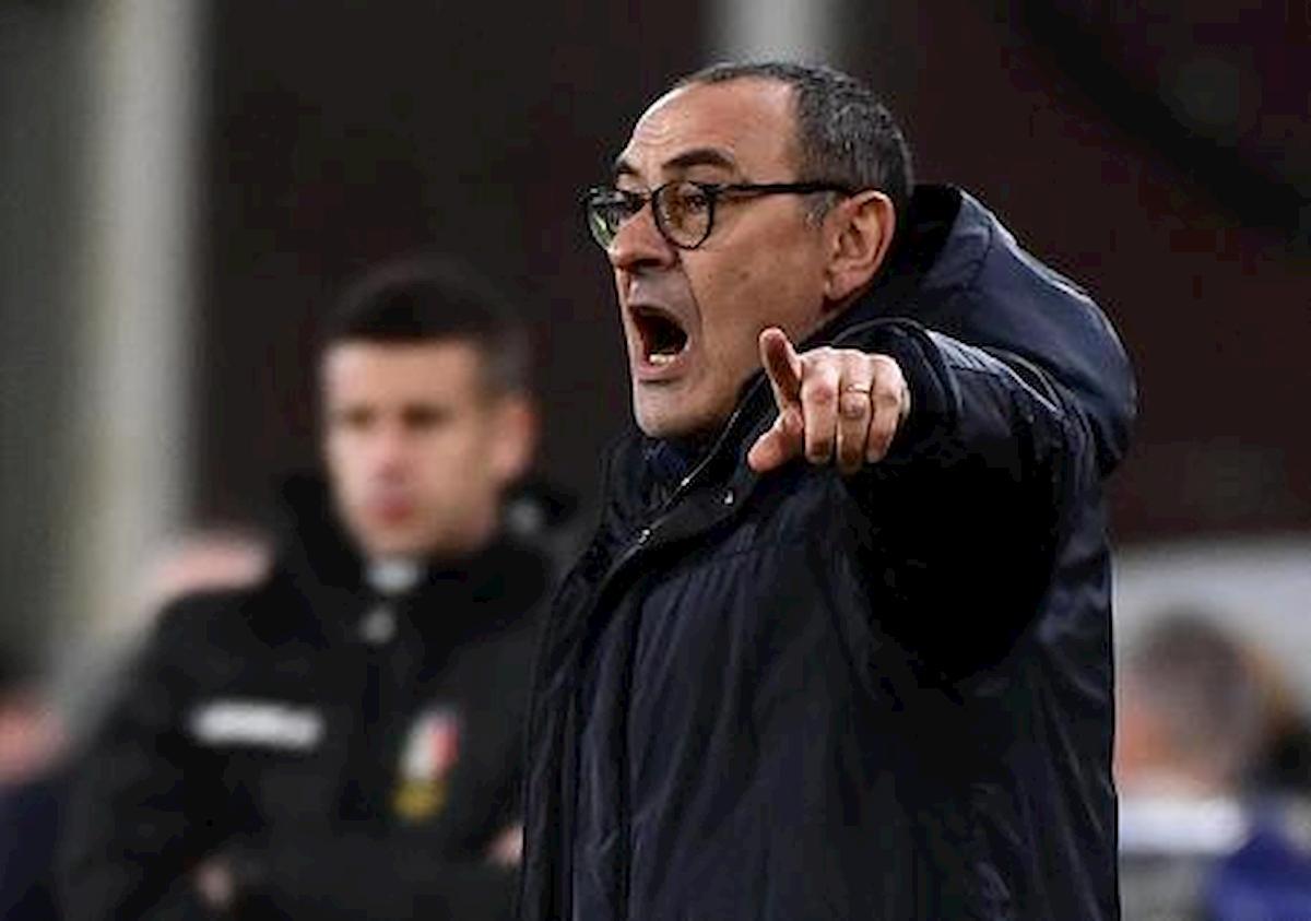 """Sarri criticato dai tifosi della Juventus ma lui non si scompone: """"Scudetto? C'è tempo fino 2 agosto..."""""""