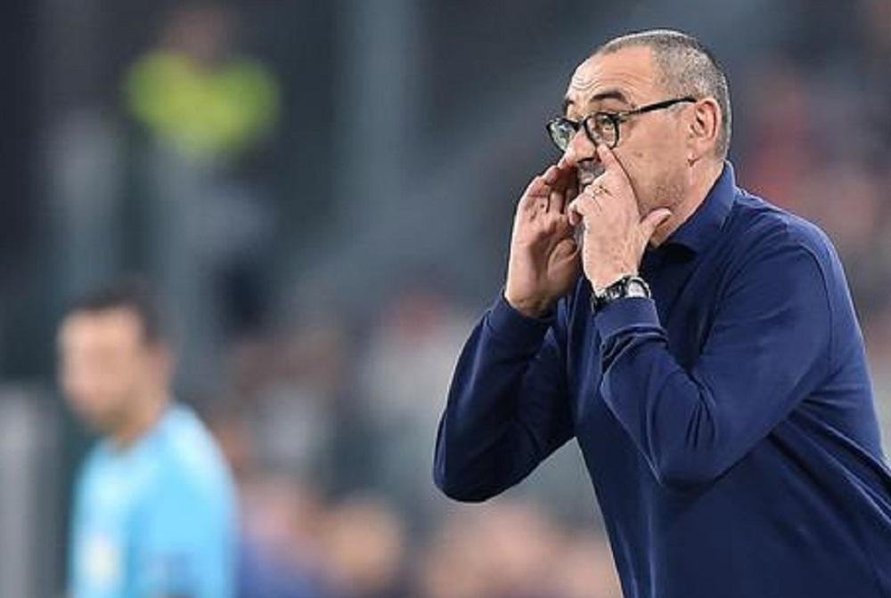 Sarri, under 23 della Juventus contro la Roma? Sì, ma non tutti e 11