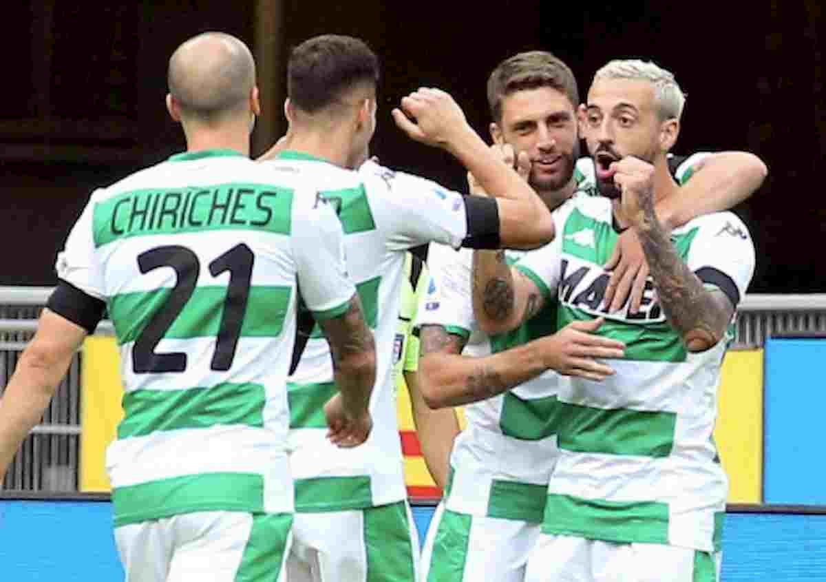 Il Sassuolo si fa riprendere dal Cagliari, adesso l'Europa League allontana