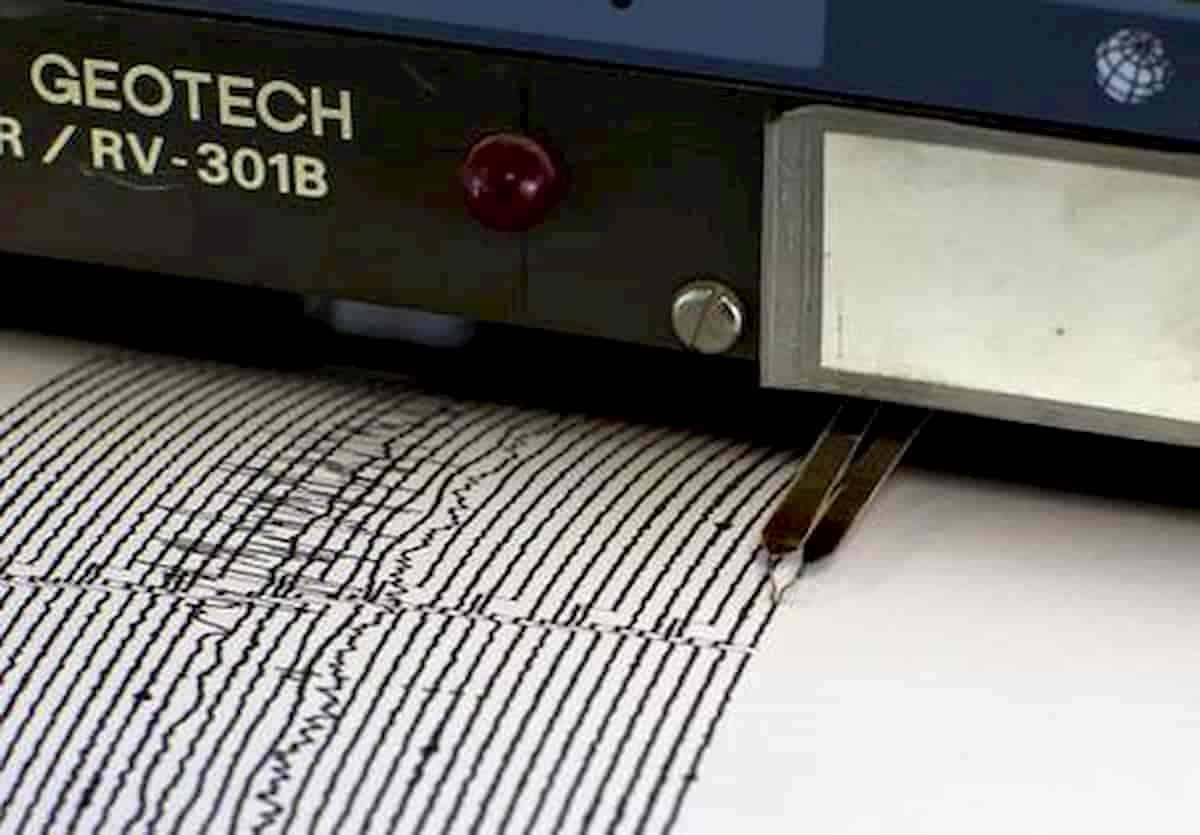 Un sismografo per registrare i terremoti
