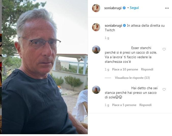 sonia bruganelli su instagram
